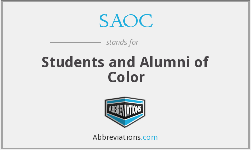 What does SAOC stand for?