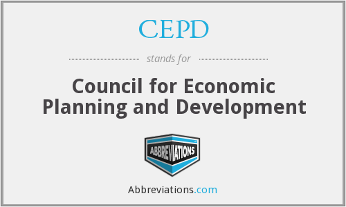 What does CEPD stand for?