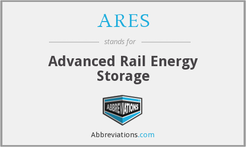What does ARES stand for?