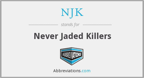 What does NJK stand for?
