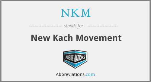 What does kach stand for?