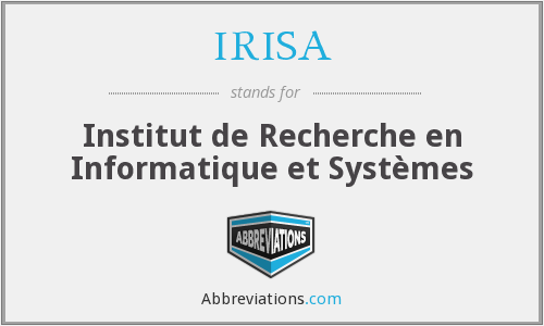 What does IRISA stand for?