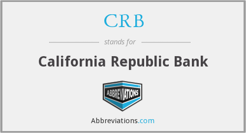 What does CRB stand for?