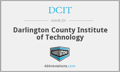 What does DCIT stand for?