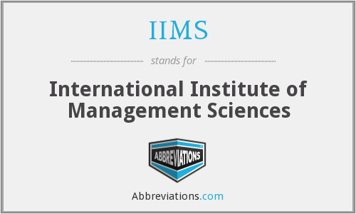 What does IIMS stand for?
