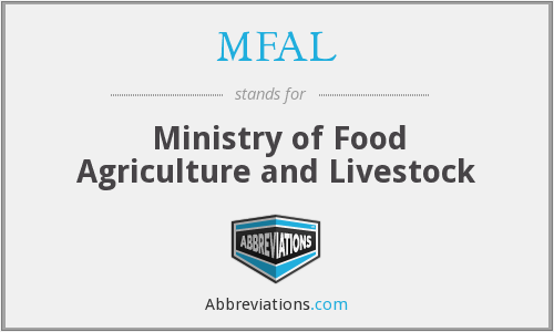 What does MFAL stand for?