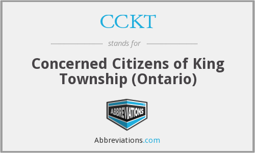 What does CCKT stand for?