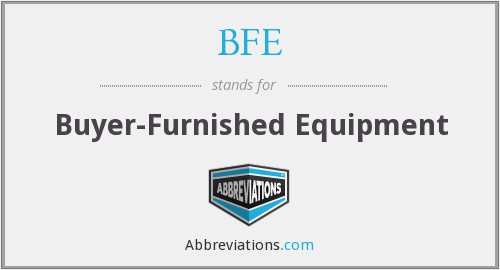 What does BFE stand for?