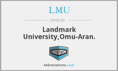 What does LMU stand for?