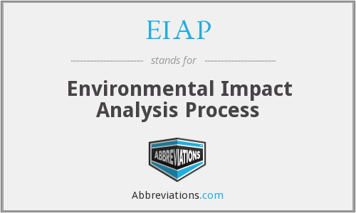 What does EIAP stand for?