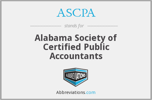 What does ASCPA stand for?