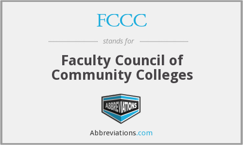 What does FCCC stand for?