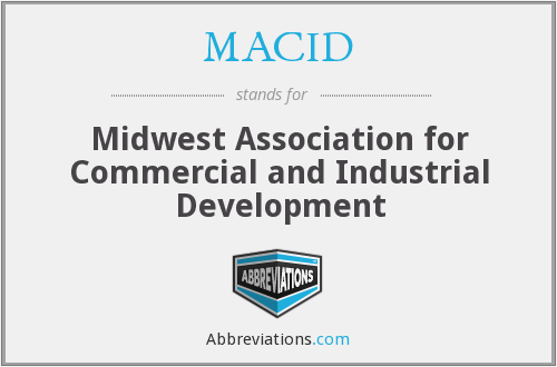 What does MACID stand for?