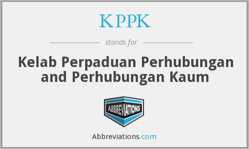 What does KPPK stand for?