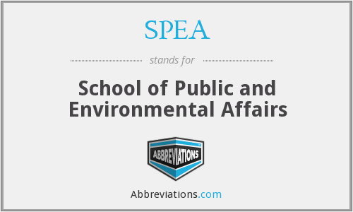What does SPEA stand for?