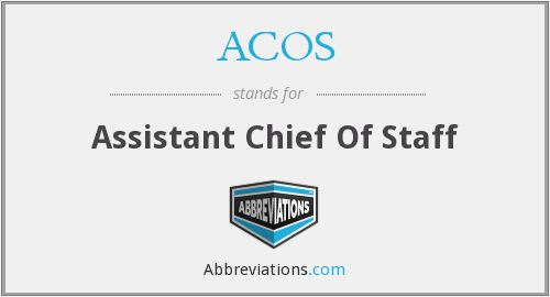 What does ACOS stand for?