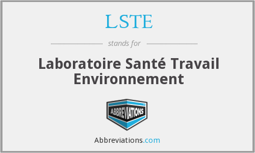 What does LSTE stand for?