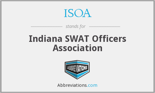 What does ISOA stand for?