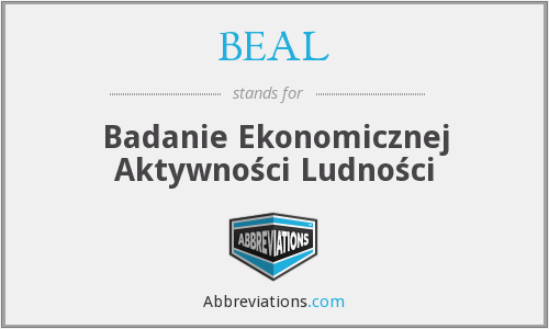 What does BEAL stand for?