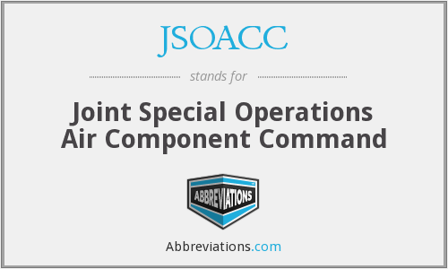 What does JSOACC stand for?