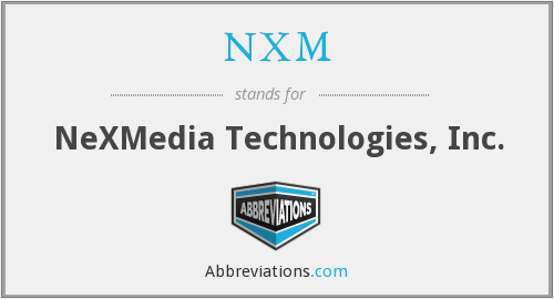 What does NXM stand for?