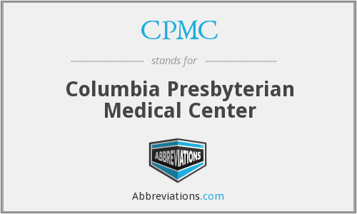 What does CPMC stand for?