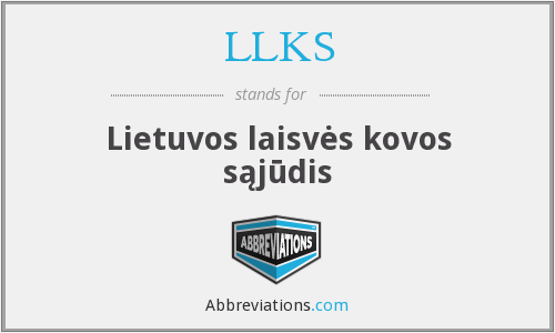What does LLKS stand for?