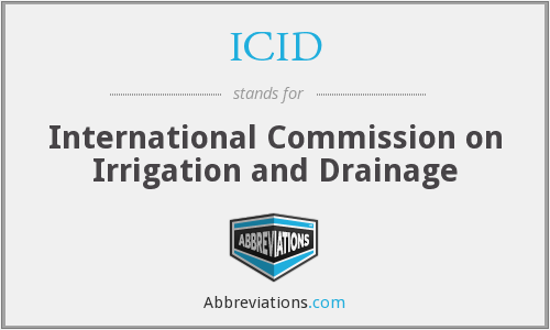 What does ICID stand for?