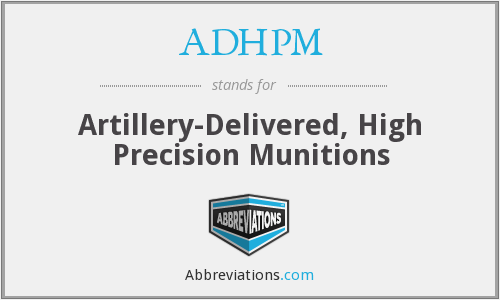What does ADHPM stand for?