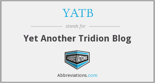 What does YATB stand for?