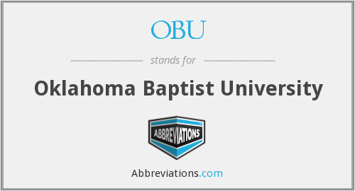 What does OBU stand for?
