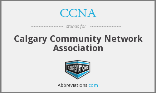 What does CCNA stand for?