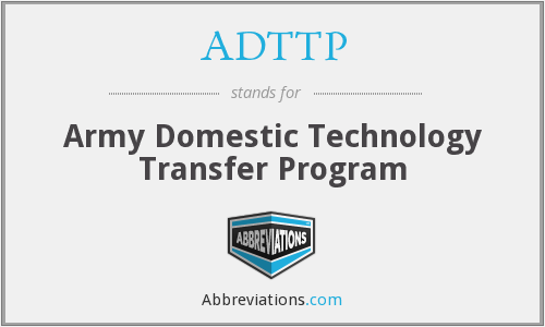 What does ADTTP stand for?