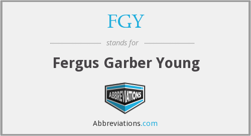 What does FGY stand for?
