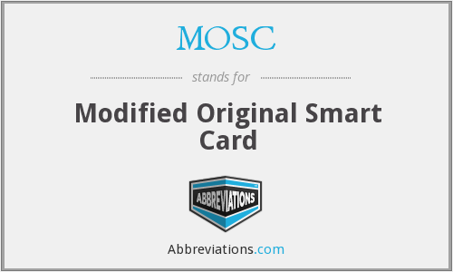 What does MOSC stand for?