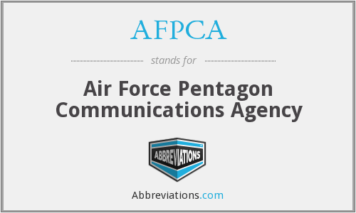 What does AFPCA stand for?
