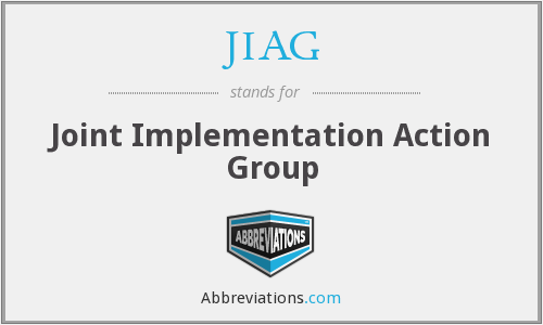 What does JIAG stand for?