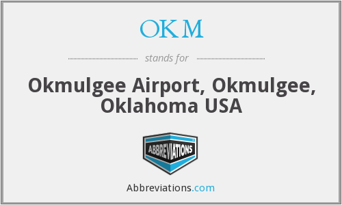 What does OKM stand for?