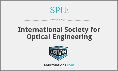 What does SPIE stand for?