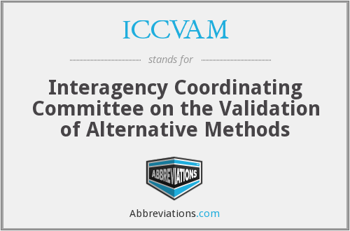 What does ICCVAM stand for?