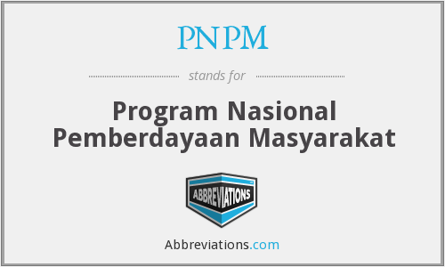 What does PNPM stand for?