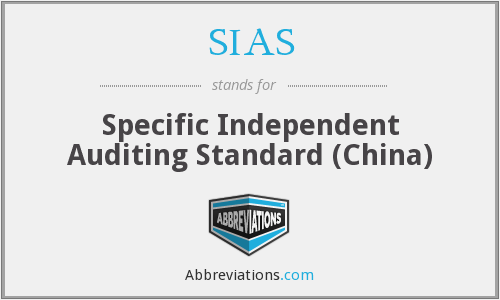 What does SIAS stand for?