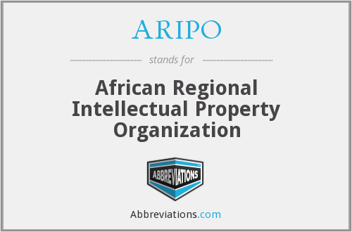 What does ARIPO stand for?