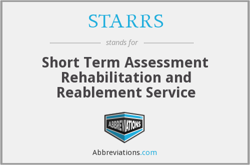What does STARRS stand for?