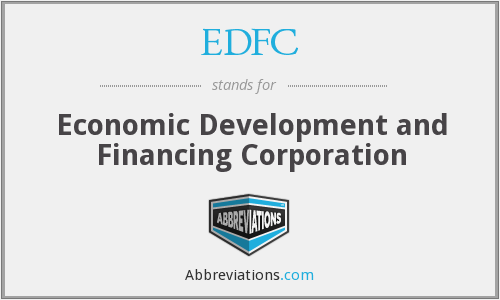 What does EDFC stand for?