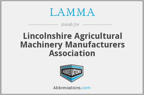 What does LAMMA stand for?
