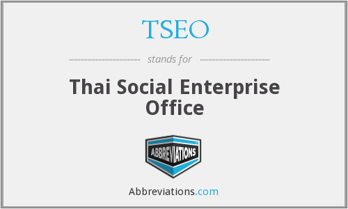 What does TSEO stand for?