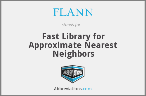 What does FLANN stand for?