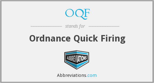 What does OQF stand for?