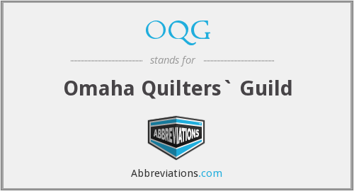 What does OQG stand for?
